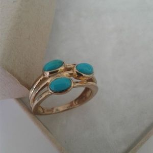 Arizona Sleeping Beauty Turquoise Ring, Size 5